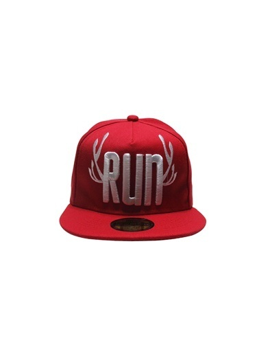 Laslusa Run Hip Hop Snapback Şapka Kırmızı